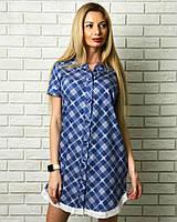 Красивое платье рубашка для женщин на лето
