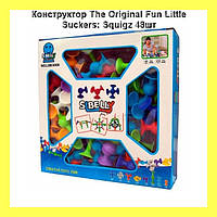 Конструктор The Original Fun Little Suckers: Squigz 48шт