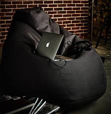 Кресло-груша, кожзаменитель (размеры: S, M, L), фото 3