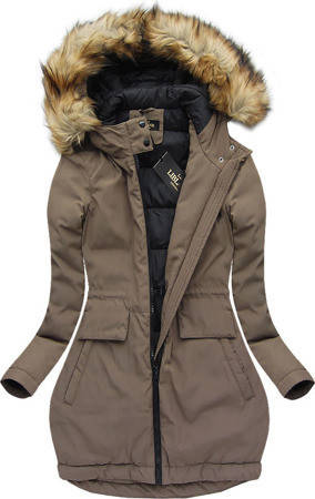 Женский зимний пуховик пальто