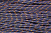 Шнур 5мм с наполнителем (100м) т.синий+горчица