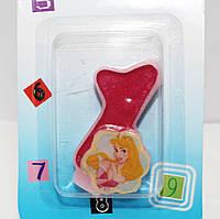 Свечи  цифры  (в торт) № M076 Принцессы №1