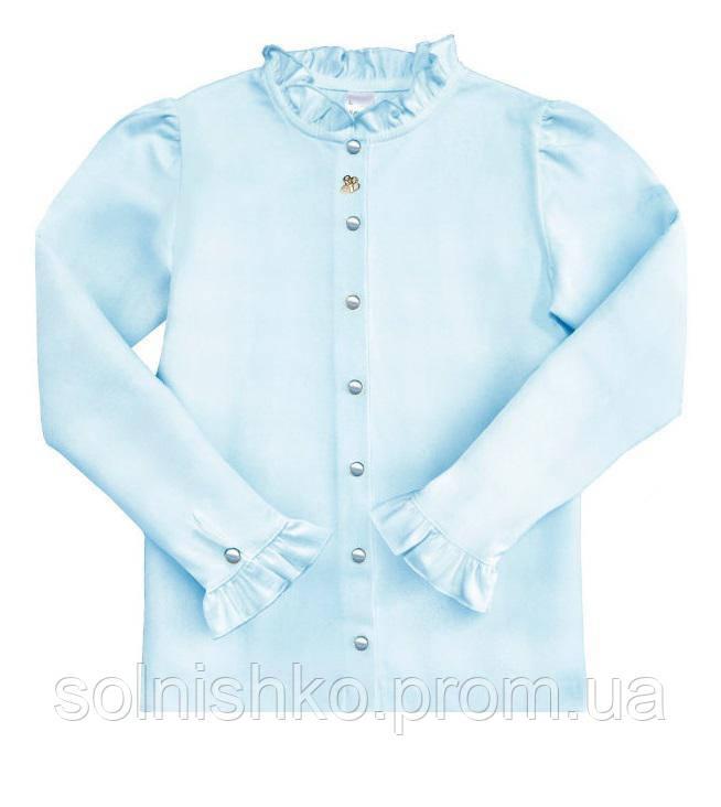 6ae08955be9 Блуза трикотажная для девочки ТМ Смил 114425 (голубой)