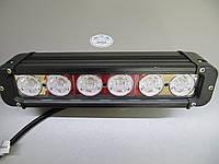 Светодиодная фара 28 см.  60Вт. дальнего света CREE XM-L-T6, фото 1
