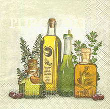 Серветка декупажна Оливкова олія 2905