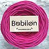 Ленточная пряжа Bobilon 9-11 мм, цвет Малиновый