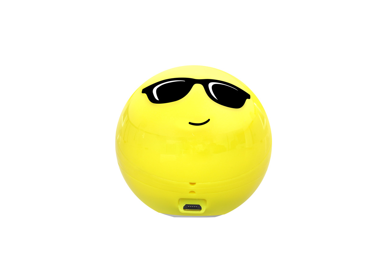 Bluetooth колонка Promate CoolClassic Yellow