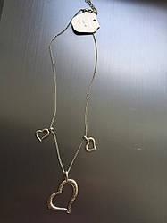 Ланцюжок з кулончиком сердечка