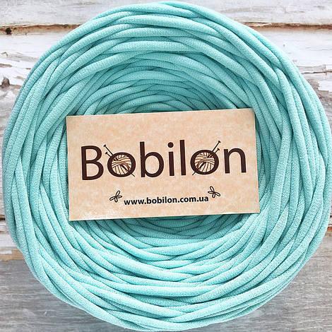 Ленточная пряжа Bobilon 9-11 мм, цвет Ментол