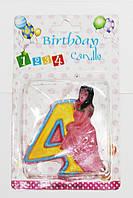 Свечи  цифры  (в торт) № HS-139 Принцессы №4