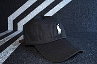 Кепка POLO by Ralph Lauren D1604 черная