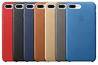 Оригинальный кожаный чехол (накладка) Apple iPhone 7 Plus / iPhone 8 Plus Leather case