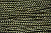 Шнур 5мм спираль (100м) черный+золото