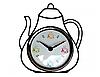 """Настенные часы """"Чайник"""""""