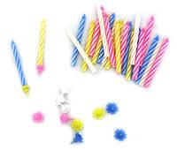 Свечи маленькие (в торт) цветные