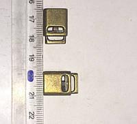 Фиксатор метал НК-103 плоский антик(100шт)