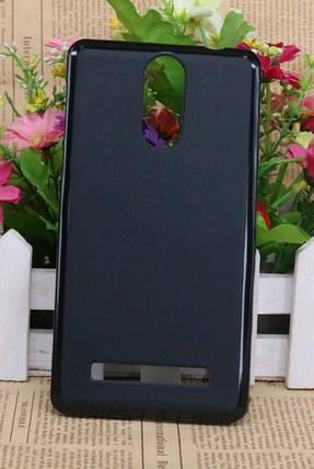 Силиконовый чехол для Leagoo M8 черный, фото 2