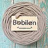 Пряжа лента Bobilon 9-11 мм, цвет Капучино
