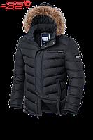 Куртка мужская зимняя на меху Braggart Aggressive - 4219L графит