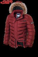 Куртка мужская зимняя на меху Braggart Aggressive -  4219S красная
