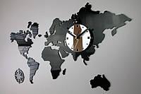 Настенные часы КАРТА МИРА(Польша)