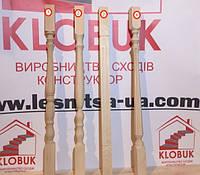 Деревянная балясина из дуба Форма1, 45*45*90 мм
