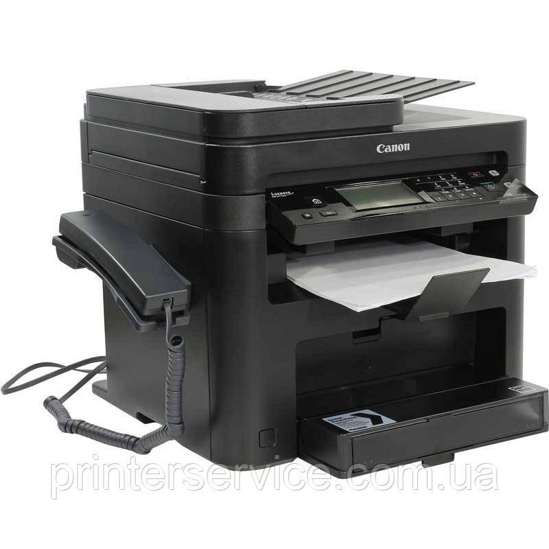 Черно-белое лазерноеМФУ Canon i-SENSYS MF249dw fax, duplex, DADF и Wi-Fi