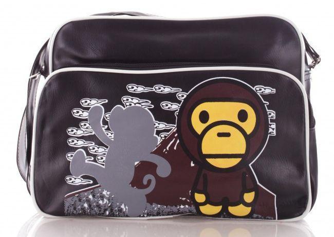 f684306fb19c Сумка на плечо из кожзама обезьянка Monkey 1, черная — только ...