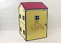 Кукольный домик для барби Свинка Пеппа
