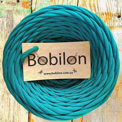Пряжа лента Бобилон 9-11 мм, цвет Голубая лагуна