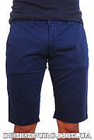 Шорты мужские коттон FRANCO BENUSSI H16-172 тёмно-синие, фото 1