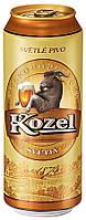 Пиво светлое Kozel  Козел 10% 0.5 л ж\б.