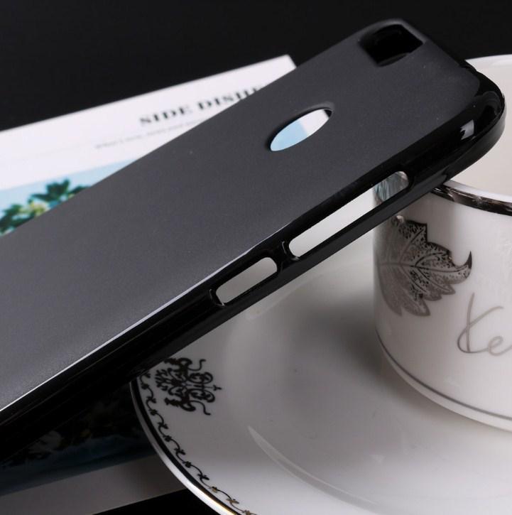 Силиконовый чехол Oukitel U20 Plus черный