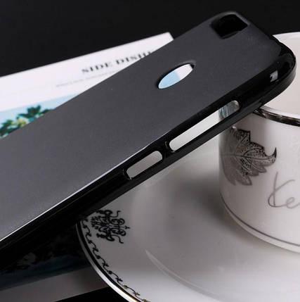 Силиконовый чехол Oukitel U20 Plus черный, фото 2