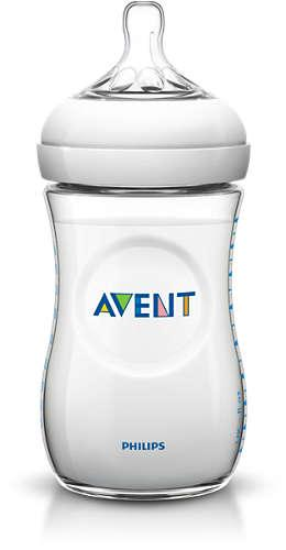 AVENT Пляшечка для годування NATURAL 260мл 1шт SCF693/17