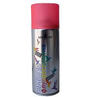 Аэрозольная флуоресцентная эмаль красная NewTon 400