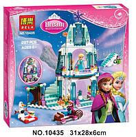 """Конструктор Bela 10435 """"Ледяной замок Эльзы"""", (аналог Lego Disney Princess 41062) 297 деталей"""