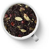 Чай черный ароматизированный Брусничный