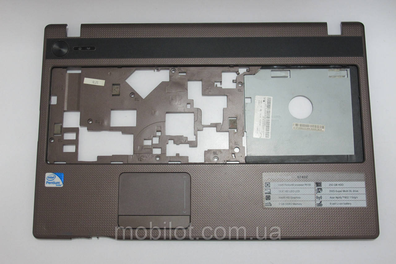 Часть корпуса (Стол) Acer 5742(NZ-3418)