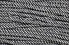Шнур 5мм спираль (100м) черный+белый