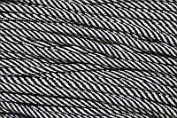 Шнур 5мм спираль (100м) черный+белый, фото 1