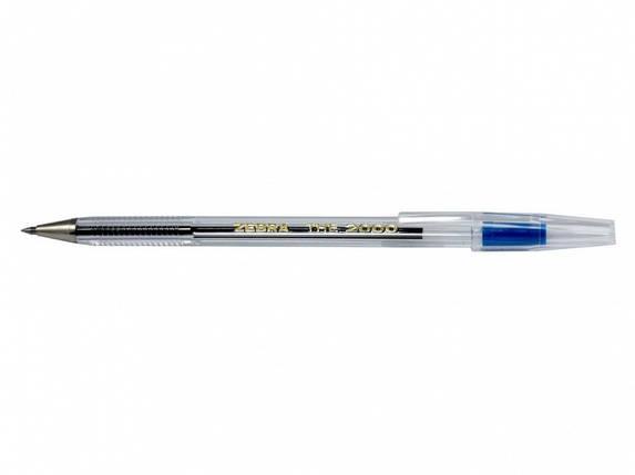 Ручка шариковая Zebra the 2000-BL синий The 2000 (Cristal)                                                                                            , фото 2