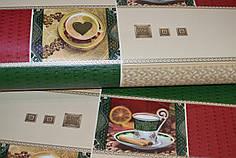 Обои, на стену, винил, красивые, чашки,  B49.4 Индия 5524-13, супер-мойка, 0,53*10м