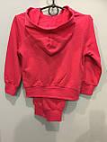 Трикотажный спортивный костюм для девочки 98 см, фото 2
