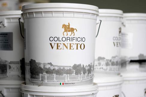Декоративная штукатурка Травертин (Travertino). Colorificio Venetto