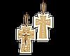 Золотой крестик классический