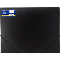 Папка на резинке Buromax 3918-01 черный А3 пласт н/проз 2рез