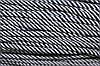 Шнур 5мм спираль (100м) т.синий+белый