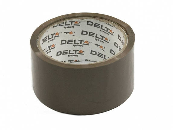 Скотч упаковочный Delta 3031-02 коричневый 48ммх50ярд 40мкм                                                                                           , фото 2