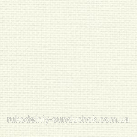Aida Zweigart 20 ct. Extra Fine Aida 3326/101 Antique White (молочная) 50*55 см